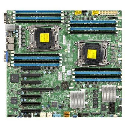 Supermicro Płyta główna serwerowa MBD-X10DRH-C-B LGA 2011 E-ATX