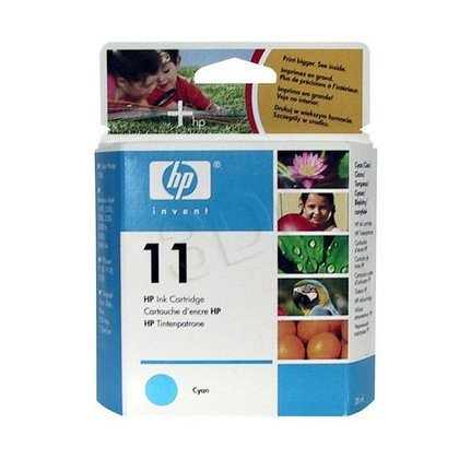 HP Tusz Niebieski HP11C=C4836A, 1700 str., 28 ml