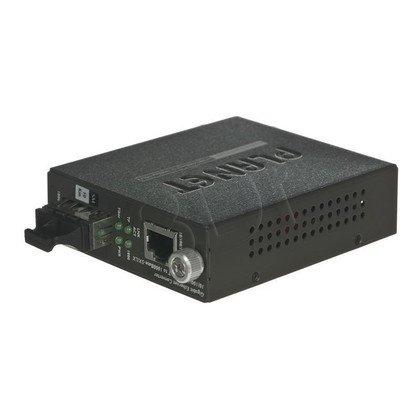 PLANET GST-802S Konw. 1000BaseT/1000LX,SC,SM,20km