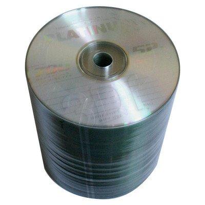 CD-R PLATINUM 700MB/80MIN 52X SZPINDEL 100SZT