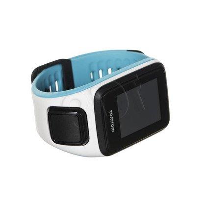 Tomtom zegarek sportowy Runner 2 Cardio S biały/ciemnobłękitny