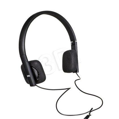 Słuchawki nauszne Denon v-JAYS (Czarny)