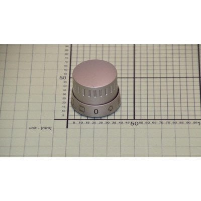 Pokrętło funkcji piekarnika scandium A 1609 inox (9062531)