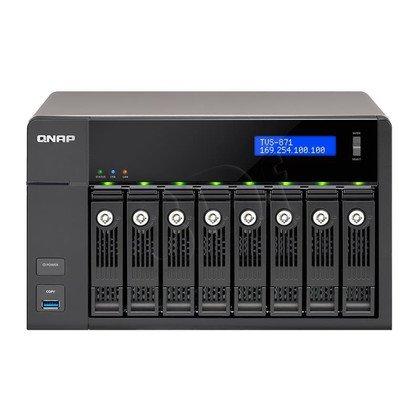 QNAP serwer NAS TVS-871-i3-4G Tower