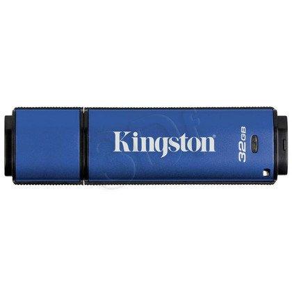 Kingston Flashdrive DataTraveler Vault Privacy 3.0 32GB USB 3.0 Niebieski