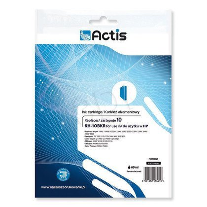 Actis KH-10BKR tusz czarny do drukarki HP (zamiennik HP 10 C4844A) Standard