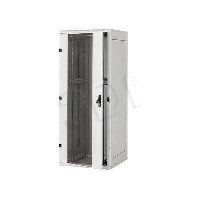 """Triton Szafa 19"""" stojąca 45U RMA-45-L81-CAX-A1-OZB drzwi przednie i tylnie perforowane. Kolor szary."""