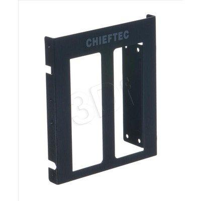 "RAMKA CHIEFTEC SDC-025 3,5"" -> 2x2,5"" SSD"