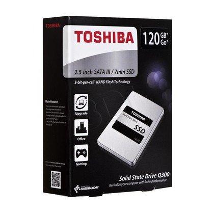 "Dysk SSD TOSHIBA Q300 2,5"" 120GB SATA III"