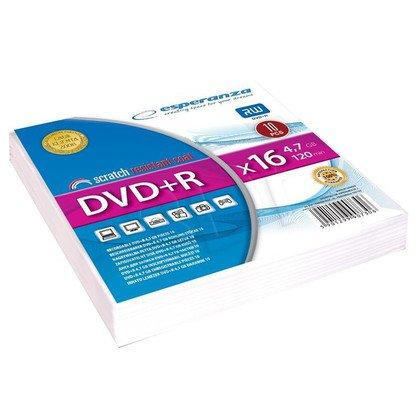 DVD+R ESPERANZA 4,7 GB X 16 KOPERTA 10SZT.