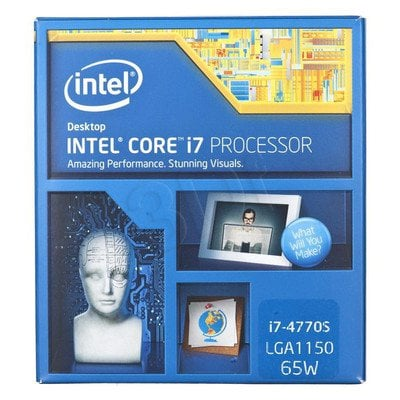 PROCESOR CORE I7 4770S 3.1GHz LGA1150 BOX