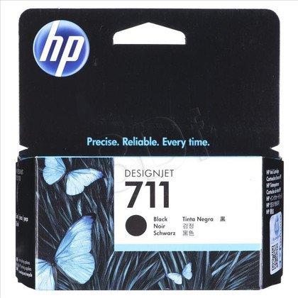 HP Tusz Czarny HP711=CZ129A, 38 ml