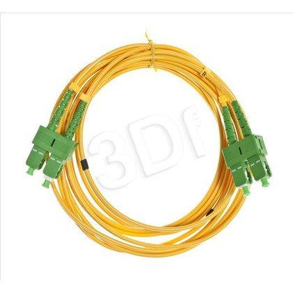 ExtraLink Fiber Optic Patchcord SM SC-SC DUPLEX 9/125 3.0M