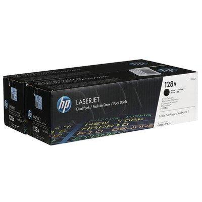HP Toner HP128Ax2=CE320AD, Zestaw 2xBk, 2xCE320A