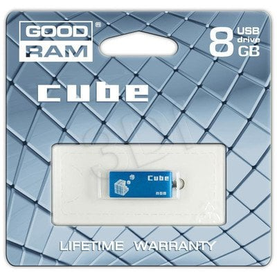 GOODRAM FLASHDRIVE 8192MB USB 2.0 CUBE