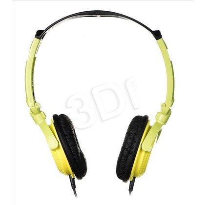 Słuchawki nauszne Panasonic RP-DJS200E-Y (Żółto-zielone)