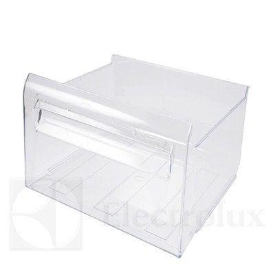 Zespół środkowej przezroczystej szuflady zamrażarki — wysokość: 189,5 mm (2063996041)