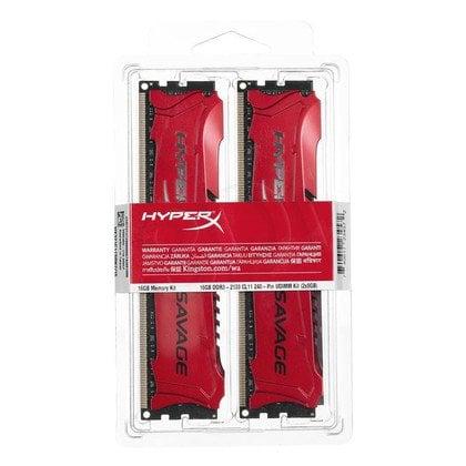 KINGSTON HyperX DDR3 2x8GB 2133MHz HX321C11SRK2/16 Savage