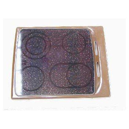 Płyta ceramiczna bez el. grz.brąz *13 (9015008)