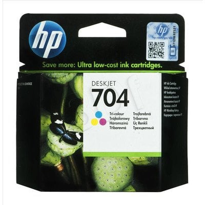 HP Tusz Kolor HP704=CN693AE, 200 str., 6 ml