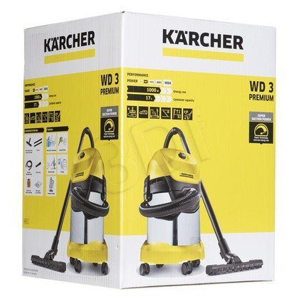 Odkurzacz przemysłowy Karcher WD 3 Premium 1.629-841.0