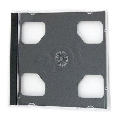 PUDEŁKO NA 2SZT CD JEWEL CASE BLACK 200szt (WYPRZ)