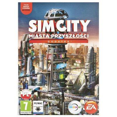 Gra PC Simcity Miasta Przyszłości (dodatek)