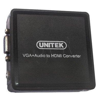 UNITEK KONWERTER VGA/HDMI Y-8701