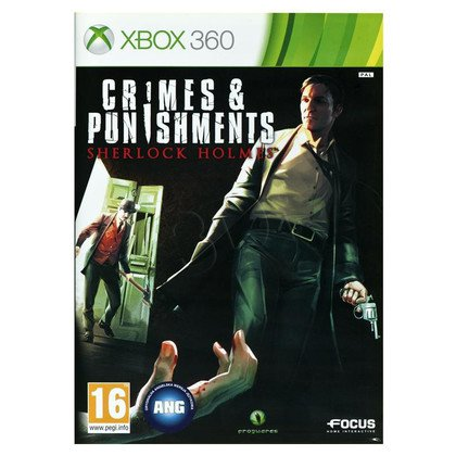 Gra Xbox 360 Sherlock Holmes Zbrodnia i kara