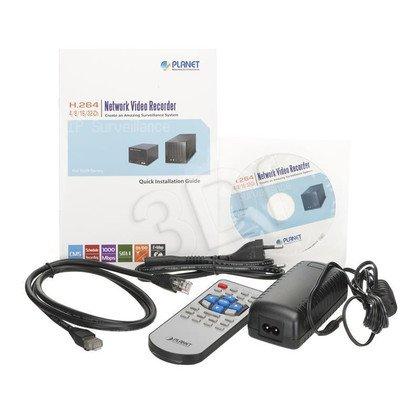 PLANET NVR-420 Rejestrator HD 4-kanały 2xHDD HDMI