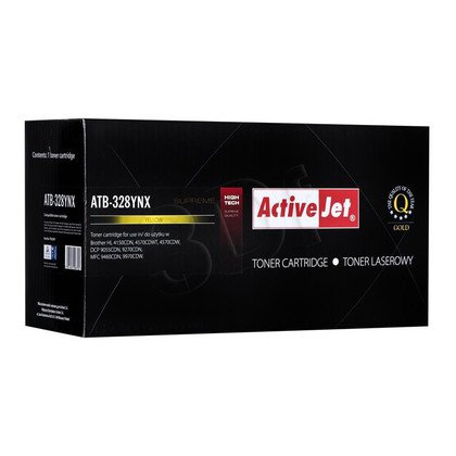 ActiveJet ATB-328YNX toner Yellow do drukarki Brother (zamiennik Brother TN-328Y) Supreme