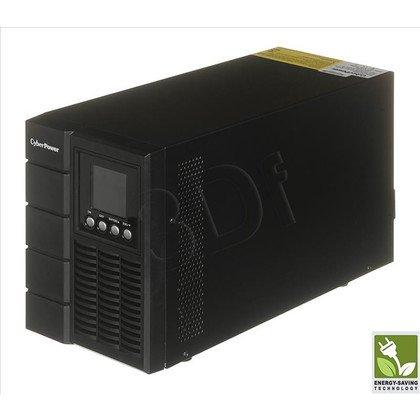 UPS CYBERPOWER OLS1000E (VFI, Tower, 1000VA, 800W, 4xIEC (4xBackup), FL6min/HL16min, możliwość podłączenia dodatkowych modułów bateryjnych)