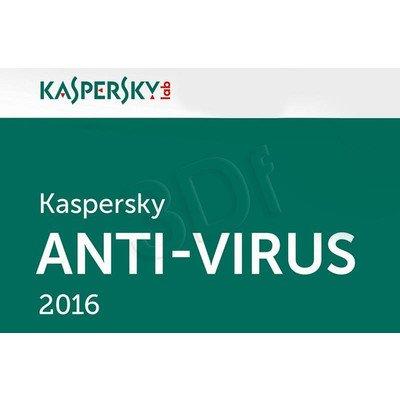 Kaspersky Anti-Virus 2016 ESD 3D/24M upg