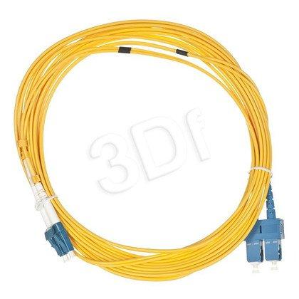 ALANTEC patchcord światłowodowy SM LSOH 5m SC-SC duplex 9/125 żółty