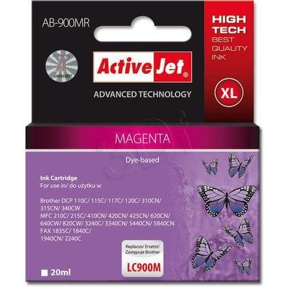 ActiveJet AB-900MR (ABR-900M) tusz magenta do drukarki Brother, ref. (zamiennik Brother LC900M)