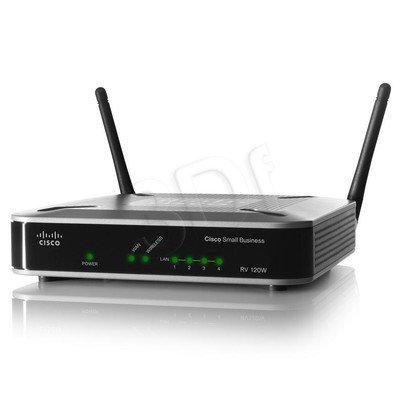 CISCO RV120W-E-G5 Router DSL,WiFi-N, Firewall (WYP)