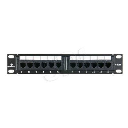 "ALANTEC Patch panel UTP 12 portów LSA 10"""