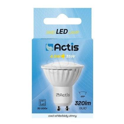 LED SMD ACTIS ACS-S6010C GU10 320lm 4,5W b.zimna