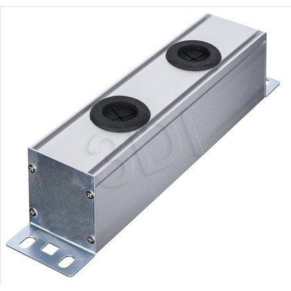 """ALANTEC Panel 10"""" 1U aluminiowy pod osprzęt 45x45"""