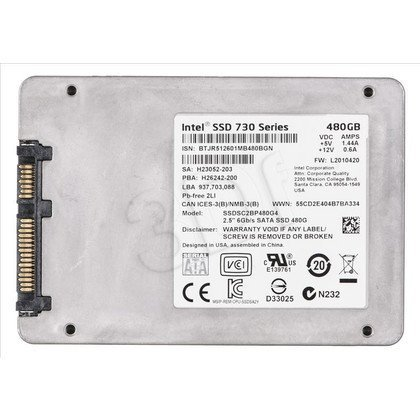 "INTEL 730 SSD MLC 480GB 2,5"" SATA 3 SSDSC2BP480G410"