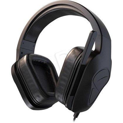 Słuchawki wokółuszne z mikrofonem Mionix Nash 20 (Czarny)