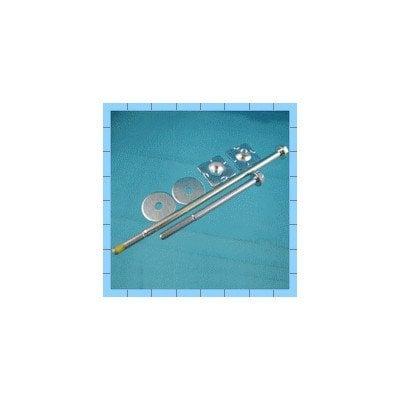 Komplet do mocowania przeciwwagi pralki Whirpool (481931039227)