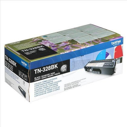 BROTHER Toner Czarny TN328BK=TN-328BK, 6000 str.