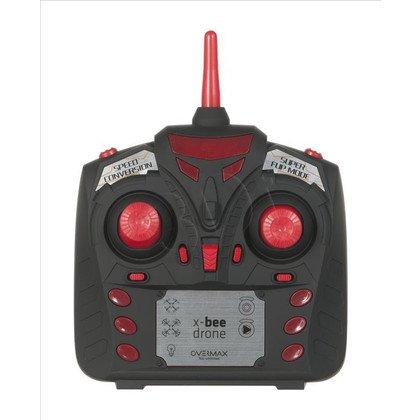 Dron latający Overmax X-BEE DRONE 3.1 (Wbudowana kamera Czerwony) 3 baterie 12 śmigieł