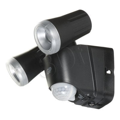 GP BEZPRZEWODOWA LAMPA LED SAFEGUARD RF2, CZARNA