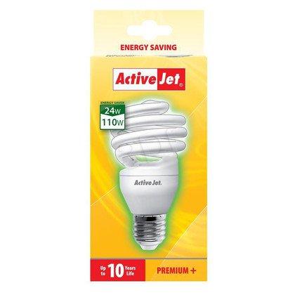 ActiveJet Świetlówka AJE-S24P E27/24W --> W - 10000h