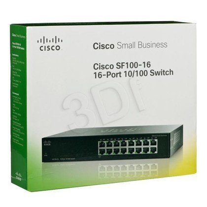 CISCO SF100-16-EU 16X10/100 Switch Rack