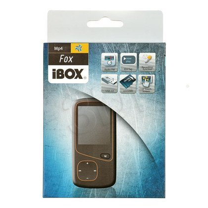 ODTWARZACZ I-BOX MP4 FOX 4GB BLACK