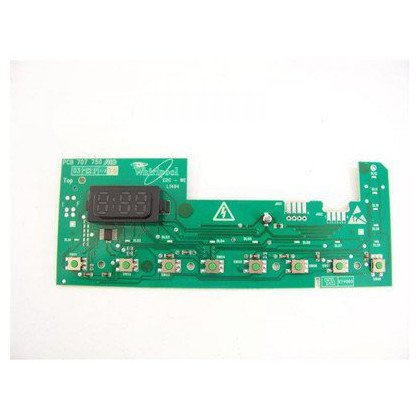Elementy elektryczne do pralek r Moduł (płytka) wyłączników sensorowych pralki (481223958046)