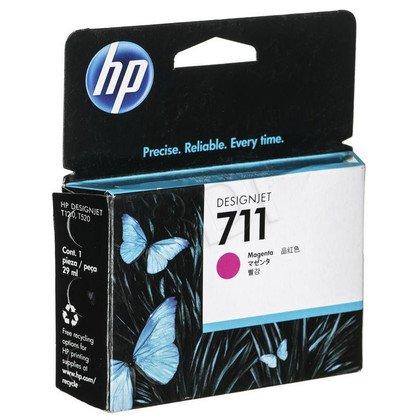 HP Tusz Czerwony HP711=CZ131A, 29 ml